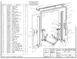 Overhead Limit Switch for BEND PAK Lift DANNMAR Lift RANGER Lift 5525110