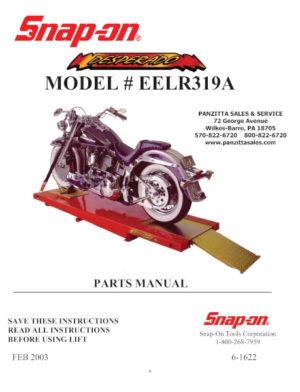 Snap-on & Wheeltronic Lift Parts and Breakdowns – Panzitta